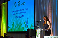 Presenting Sponsor Nan Ferrera speaks during the Ronald McDonald House Jacksonville annual McGala fundraiser Saturday, May 19, 2018 at the Marriott Sawgrass in Ponte Vedra Beach, Fl.