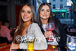 Enjoying the evening in the Fiddler Bar on Saturday, l to r: Mary Stack and Chantelle Murphy.