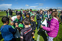 Manawatu captain Nehe Milner-Skudder signs autographs after the Mitre 10 Cup Cup rugby match between Manawatu Turbos and Southland Stags at Manfeild Park in Feilding, New Zealand on Saturday, 1 November 2020. Photo: Dave Lintott / lintottphoto.co.nz