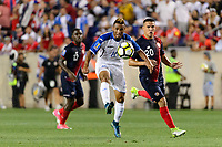 Harrison, NJ - Friday July 07, 2017: Alex López during a 2017 CONCACAF Gold Cup Group A match between the men's national teams of Honduras (HON) vs Costa Rica (CRC) at Red Bull Arena.