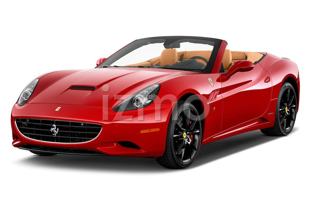 Front three quarter view of a 2014 Ferrari California Convertible
