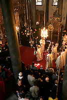 The Orthodox Easter service with the Ecumenical Patriarch in Istanbul, Turkey