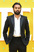 """LONDON, UK. June 18, 2019: Himesh Patel arriving for the UK premiere of """"Yesterday"""" at the Odeon Luxe, Leicester Square, London.<br /> Picture: Steve Vas/Featureflash"""