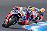 October 27, 2018: Jack Miller (UK) on the No.43 Ducati from Alma Pramac Racing during practice session three at the 2018 MotoGP of Australia at Phillip Island Grand Prix Circuit, Victoria, Australia. Photo Sydney Low