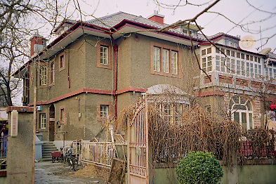 APC General Manager's House At 22 Racecourse Road, Tianjin (Tientsin). Photographed On Film In 1997.