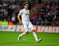 Pictured: Danny Graham of Swansea. Tuesday 28 August 2012<br /> Re: Capital One Cup game, Swansea City FC v Barnsley at the Liberty Stadium, south Wales.