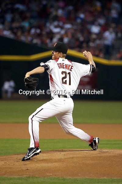 Zack Greinke - 2016 Arizona Diamondbacks (Bill Mitchell)