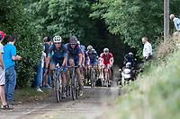 Break away group<br /> <br /> 2nd Dwars door het Hageland 2017 (UCI 1.1)<br /> Aarschot > Diest : 193km