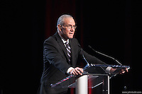 San Francisco, CA - Saturday Feb. 14, 2015: Dan Flynn at the 2014 US Soccer Hall of Fame Induction ceremony.
