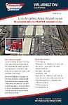 Advertising brochure for California Cartage Company warehouse facility