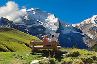 Grindelwald First - Picnic- Swiss Alps - Switzerland