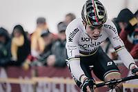CX world champion Wout Van Aert (BEL/Crelan-Charles)<br /> <br /> Super Prestige Ruddervoorde / Belgium 2017