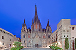 Europe, Spain, Catalonia, Barcelona, Gothic Quarter, Barcelona Cathedral