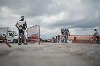 racing over the cobbles<br /> <br /> 101st Kampioenschap van Vlaanderen 2016 (UCI 1.1)<br /> Koolskamp › Koolskamp (192.4km)