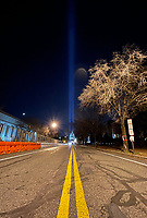 JAN 16 Light Beams Tested Behind US Capitol