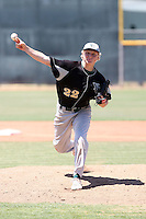 James Dykstra, Yavapai College Roughriders playing at Phoenix College, Phoenix, AZ - 05/01/2010.Photo by:  Bill Mitchell/Four Seam Images.