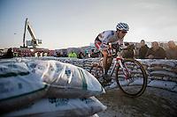Philipp Walsleben (DEU/Beobank-Corendon)<br /> <br /> Elite Men's Race<br /> Soudal Jaarmarktcross Niel 2016