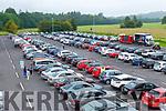 Huge crowd enjoying St Pauls BC drive in bingo  in Killarney on Sunday evening