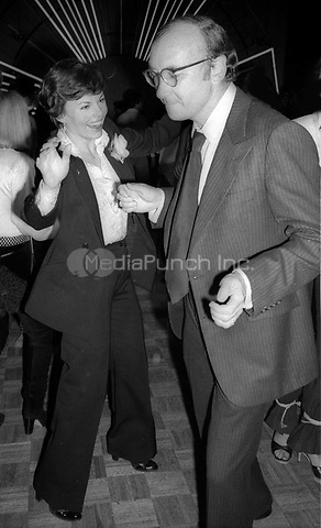 Marsha Mason and Neil Simon at Studio 54 1977<br />