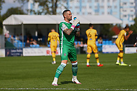 Dean Bouzanis of Sutton United during Sutton United vs Stevenage, Sky Bet EFL League 2 Football at the VBS Community Stadium on 11th September 2021