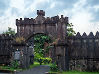 The historical spanish West gate in Subic Bay, Pampanga, Philippines