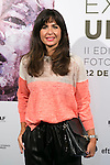 Nuria Roca attend the photocall of the Presentation of UP Cycling photographic exhibition at EFTI School in Madrid, Spain. October 22, 2014. (ALTERPHOTOS/Carlos Dafonte)