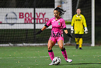 Jessica Silva Valdebenito (18 Charleroi) pictured during a female soccer game between Sporting Charleroi and Eendracht Aalst on the 8th  matchday of the 2020 - 2021 season of Belgian Scooore Womens Super League , friday 20 th of November 2020  in Marcinelle , Belgium . PHOTO SPORTPIX.BE | SPP | DAVID CATRY