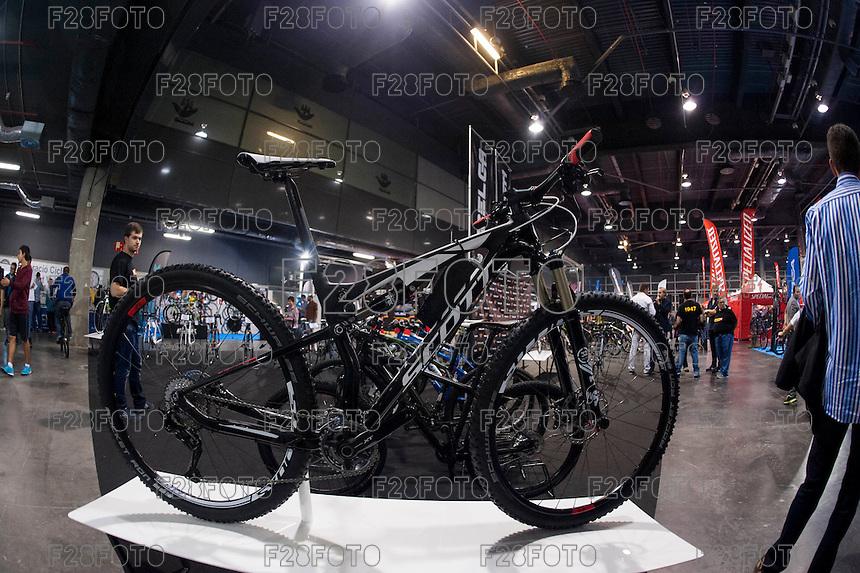 VALENCIA, SPAIN - NOVEMBER 7: Scott bike during DOS RODES at Feria Valencia on November 7, 2015 in Valencia, Spain