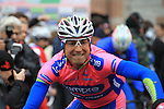 Davide Cimolai (ITA) Lampre-Merida at the sign on before the start of the 104th edition of the Milan-San Remo cycle race at Castello Sforzesco in Milan, 17th March 2013 (Photo by Eoin Clarke 2013)