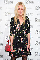 Nicola Hughes<br /> arriving for the Natural History Museum Ice Rink launch party 2017, London<br /> <br /> <br /> ©Ash Knotek  D3340  25/10/2017
