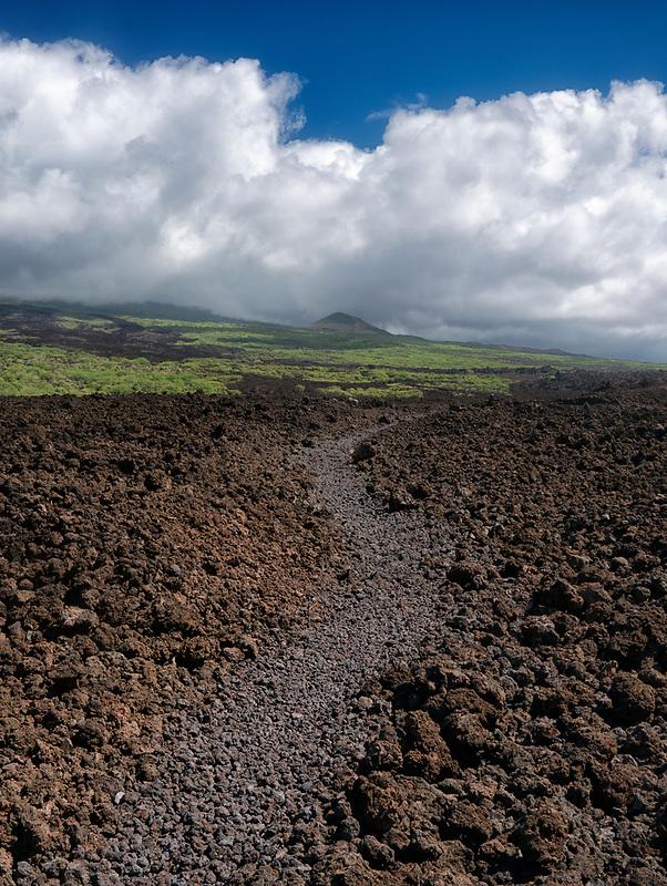 Kings Highway path. Mekena, Maui, Hawaii
