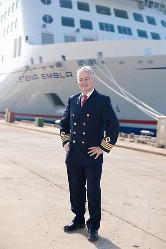 Stena Embla skipper Neil Whittaker