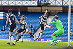 Rangers v St Mirren: St Mirren's Conor McCarthy looks on as he deflects Alfredo Morelos's shot into his own net