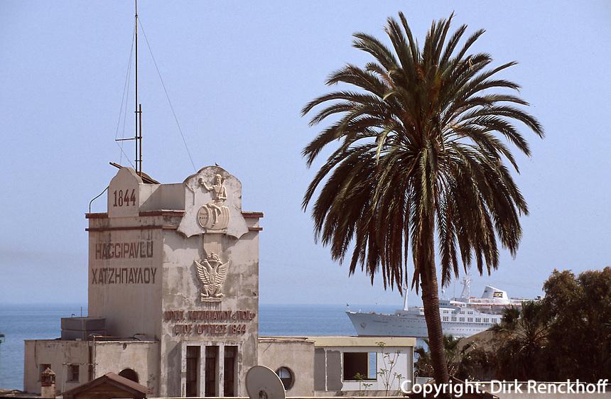 Zypern (Süd), Gebäude am Hafen in Limassol