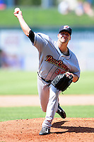 Kyle Davies (36) of the Scranton/Wilkes-Barre RailRiders during a game versus the Pawtucket Red Sox at McCoy Stadium on May 27, 2015 in Pawtucket, Rhode Island. (Ken Babbitt/Four Seam Images)