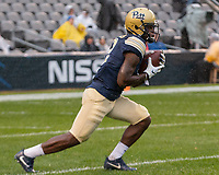 Pitt wide receiver Maurice Ffrench. The Pitt Panthers football team defeated the Duke Blue Devils 54-45 on November 10, 2018 at Heinz Field, Pittsburgh, Pennsylvania.