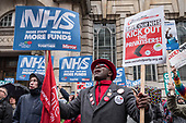 Fund Our NHS march, 3-2-18