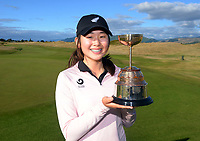 Vivian Lu. Day four of the Renaissance Brewing NZ Stroke Play Championship at Paraparaumu Beach Golf Club in Paraparaumu, New Zealand on Sunday, 21 March 2021. Photo: Dave Lintott / lintottphoto.co.nz