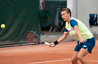 Paris, France, 30 May, 2020, Tennis, French Open, Roland Garros, Womans doubles,: Demi Schuurs (NED) <br /> Photo: Fred Mullane/tennisimages.com