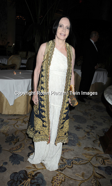 Mary McFadden attends The 2011 Living Landmarks Celebration presented by The New York Landmarks Conservancy on ..November 2, 2011 at The Plaza Hotel in New York City.  ..The honorees are Lewis B Cullman, Louise Kerz Hirschfeld, Angelia Lansbury, Danny Meyer and Regis Philbin.