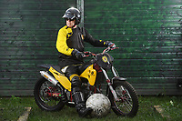Give us a game… Britain's last remaining motoball club is pleading for people to take up the sport.