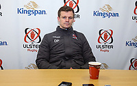 Monday 30th December 2019 | Ulster Rugby Match Briefing<br /> <br /> Ulster Rugby Backs Coach Dwayne Peel at the Match Briefing held at Kingspan Stadium, Belfast ahead of the PRO14 Round 10 inter-pro clash against Munster at Kingspan Stadium, on Friday 3rd January 2020. Photo by John Dickson / DICKSONDIGITAL