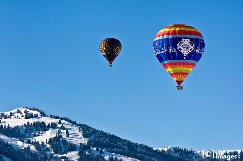 34th International Balloon Festival of Château-d'Oex