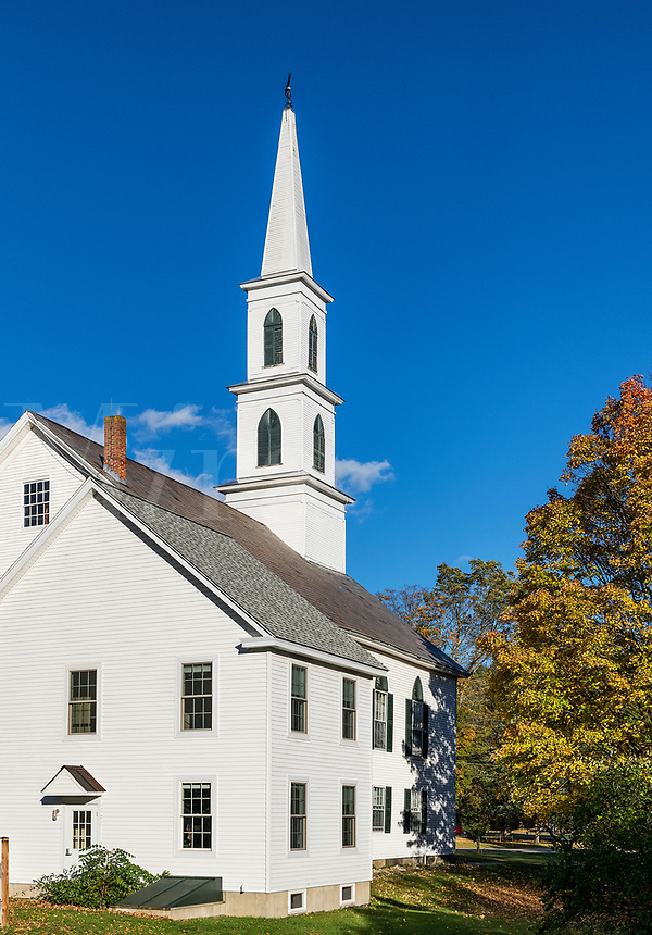 Church, Newfane, Vermont, USA.