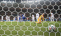 England's Joe Hart lets in Italy Goal scored by Claudio Marchisio