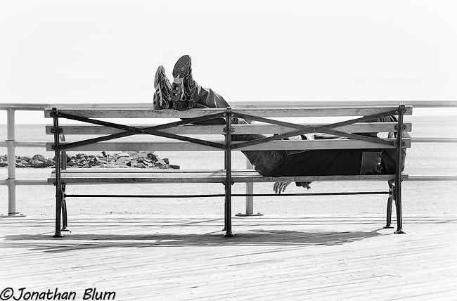 Chillin', Coney Island Boardwalk