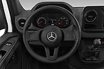 Car pictures of steering wheel view of a 2019 Mercedes Benz Sprinter - 2 Door Cargo Van Steering Wheel