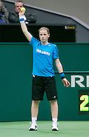 11-02-14, Netherlands,Rotterdam,Ahoy, ABNAMROWTT,Ballgirl<br /> Photo:Tennisimages/Henk Koster