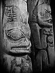 Carving of a Bear, Totem Heritage Center at Ketchikan, Alaska