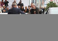 arrives to Maria Cristina Hotel to attend the 61 San Sebastian Film Festival, in San Sebastian, Spain. September 20, 2013. (ALTERPHOTOS/Victor Blanco) /NortePhoto